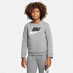 Boys' Nike Sportswear Club Fleece Crew Sweatshirt