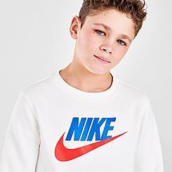 Kids' Nike Sportswear Club Fleece Crewneck Sweatshirt