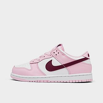 Image of GIRLS' LITTLE KIDS' NIKE DUNK LOW – AVAILABLE IN APP & STORES