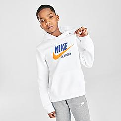 Boys' Nike Sportswear NYC City Club Fleece Hoodie