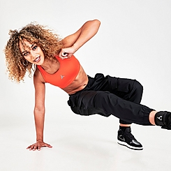 Women's Jordan Jumpman 1-Piece Padded Medium-Support Sports Bra