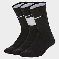 Kids' Nike Elite 3-Pack Basketball Crew Socks