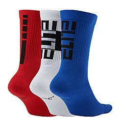 Kids' Nike Elite 3-Pack Basketball Crew Socks