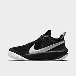 Big Kids' Nike Team Hustle D 10 Basketball Shoes