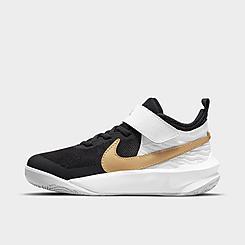 Little Kids' Nike Team Hustle D 10 Basketball Shoes
