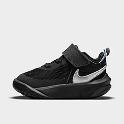 Kids' Toddler Nike Team Hustle D 10 Basketball Shoes