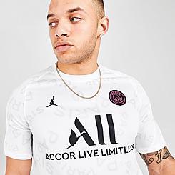 Men's Paris Saint-Germain Pre-Match Short-Sleeve Soccer Top
