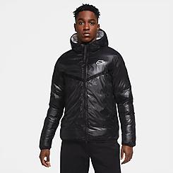Men's Nike Sportswear Synthetic-Fill Marble Windrunner Jacket