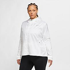 Women's Nike Essential Running Jacket (Plus Size)
