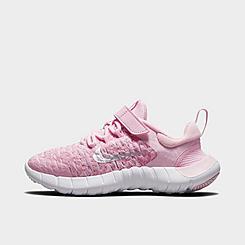 Girls' Little Kids' Nike Free Run 5.0 2021 Running Shoes