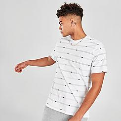 Men's Nike Sportswear Club Stripe Logo T-Shirt
