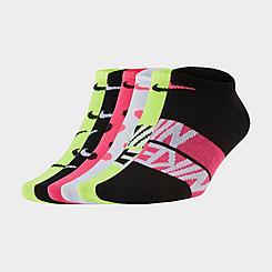 Women's Nike Everyday Lightweight Training 6-Pack No-Show Socks