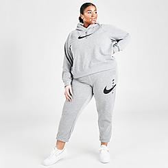 Women's Nike Sportswear SWOOSH Fleece Jogger Pants (Plus Size)