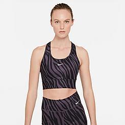 Women's Nike Dri-FIT Swoosh Icon Clash Animal Print Medium-Support Sports Bra
