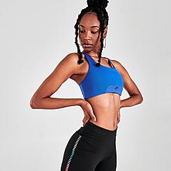 Women's Nike Air Dri-FIT Swoosh 1-Piece Pad Keyhole Medium-Support Sports Bra