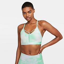 Women's Nike Dri-FIT Indy Icon Clash Light-Support Strappy Sports Bra