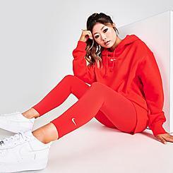 Women's Nike Sportswear Essential Mid-Rise Cropped Leggings