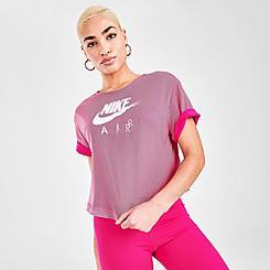 Women's Nike Air Mesh Short-Sleeve Top
