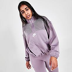 Women's Nike Air Quarter-Zip Sweatshirt