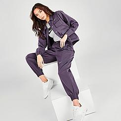 Women's Nike Sportswear Swoosh Woven Jogger Pants