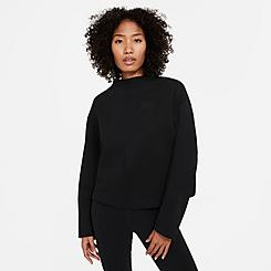 Women's Nike Sportswear Tech Fleece Crew Sweatshirt
