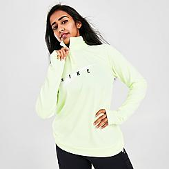 Women's Nike Swoosh Run Half-Zip Running Top