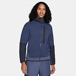 Men's Nike Sportswear Tech Fleece Woven Full-Zip Hoodie