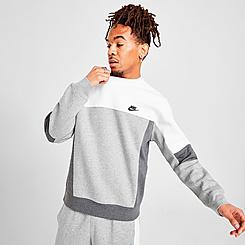 Men's Nike Sportswear Colorblock Crewneck Sweatshirt