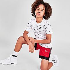 Kids' Nike Super Elite Camo Basketball Shorts