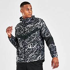 Men's Nike Windrunner Ani-Camo Wild Run Running Jacket