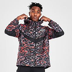 Men's Nike Windrunner Ani-Camo Wild Run Running Jacket