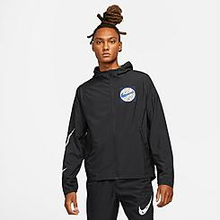 Men's Nike Essential Wild Run Graphic Packable Jacket