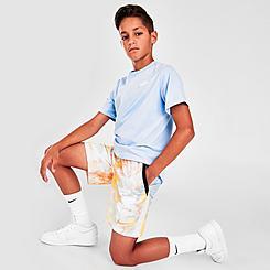 Boys' Big Kids' Nike Run Wild Tie-Dye Training Shorts