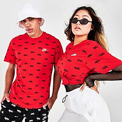Men's Nike Sportswear Allover Printed Club T-Shirt