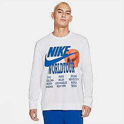 Men's Nike Sportswear World Tour Long-Sleeve T-Shirt