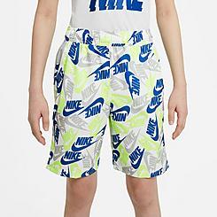 Boys' Nike Sportswear Futura Printed Woven Shorts