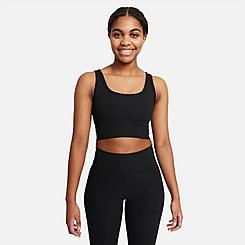 Women's Nike One Luxe Ribbed Crop Tank