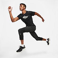 Men's Nike Phenom Elite Wild Run Cropped Training Pants