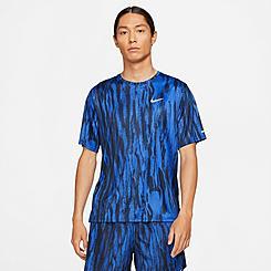 Men's Nike Dri-FIT Miler Wild Run Printed T-Shirt