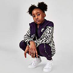 Girls' Nike Sportswear Printed Jacket