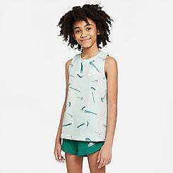 Girls' Nike Sportswear Swoshfetti French Terry Tank Top