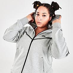 Women's Nike Sportswear Tech Fleece Windrunner Full-Zip Hoodie (Plus Size)