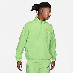 Men's Nike Sportswear Windrunner Half-Zip Jacket