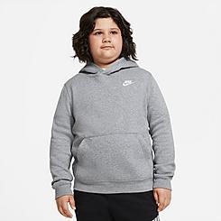 Boys' Nike Sportswear Club Fleece Pullover Hoodie (Plus Size)