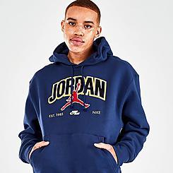 Men's Jordan Jumpman Fleece Pullover Hoodie