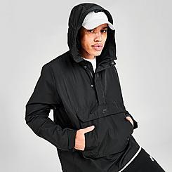 Men's Nike Sportswear Hooded Anorak Wind Jacket