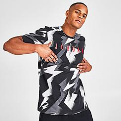 Men's Jordan Jumpman Air Graphic Allover Print T-Shirt