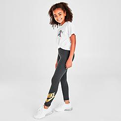 Girls' Nike Sportswear Graphic Leggings