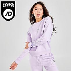 Women's Nike Sportswear Shine Fleece Crew Sweatshirt