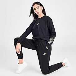 Women's Nike Sportswear Shine Fleece Jogger Pants